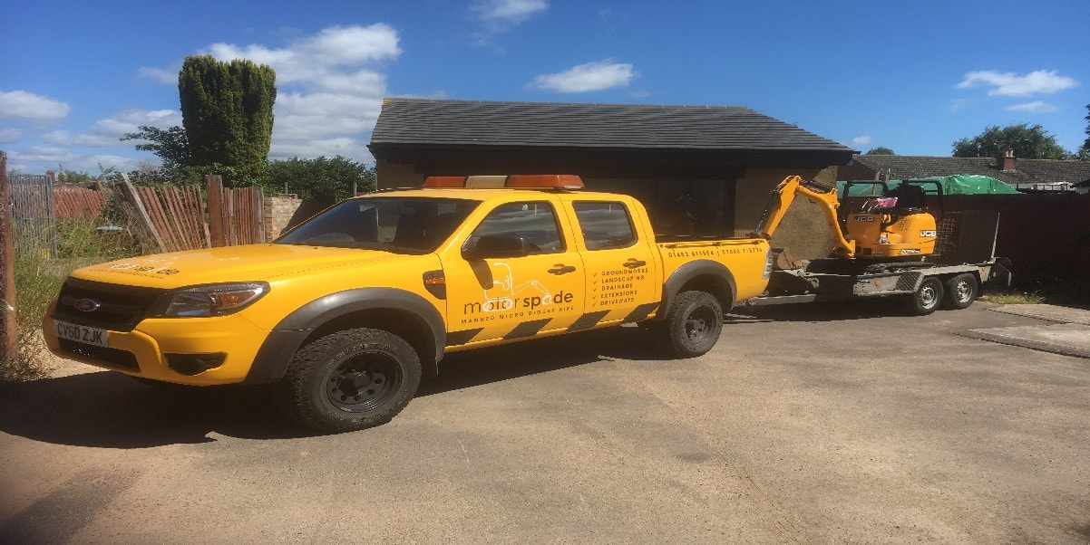 Gloucestershire micro diggers hire